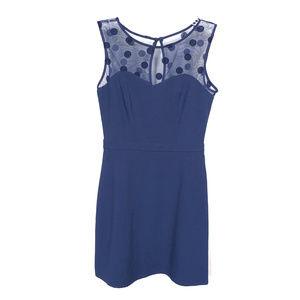 LC Lauren Conrad Blue Sleeveless Dress - 2